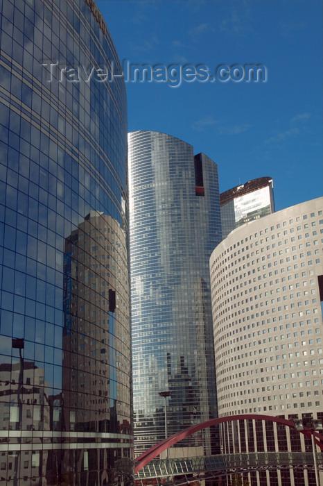 france631: Paris, France: office buildings - Tours Kupka, Société Générale and Pacific - La Défense, Puteaux, Nanterre - photo by Y.Guichaoua - (c) Travel-Images.com - Stock Photography agency - Image Bank