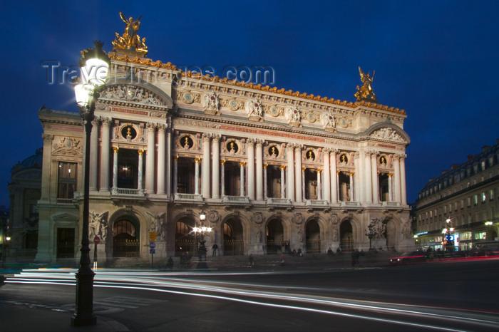 france646: Paris: Opera - Palace Garnier - rive droite - 9ème arrondissement - photo by Y.Guichaoua - (c) Travel-Images.com - Stock Photography agency - Image Bank