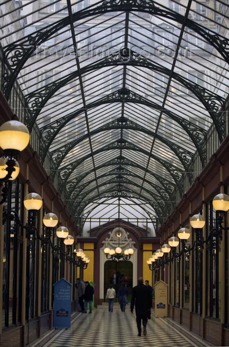 france653: Paris, France: Passage des Princes, links 5, boulevard des Italiens to 97, rue de Richelieu - IIème - photo by Y.Guichaoua - (c) Travel-Images.com - Stock Photography agency - Image Bank