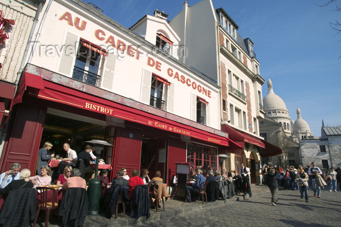 france663: Paris, France: bistrot Au Cadt de Gascogne - Montmartre - photo by Y.Guichaoua - (c) Travel-Images.com - Stock Photography agency - Image Bank
