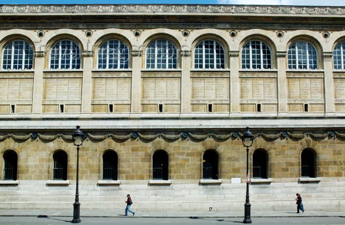 france675: Paris, France: Bibliothèque Sainte-Geneviève - Italian Renaissance Revival - architect Henri Labrouste - rive gauche - Pantheon square - Ve - photo by Y.Guichaoua - (c) Travel-Images.com - Stock Photography agency - Image Bank