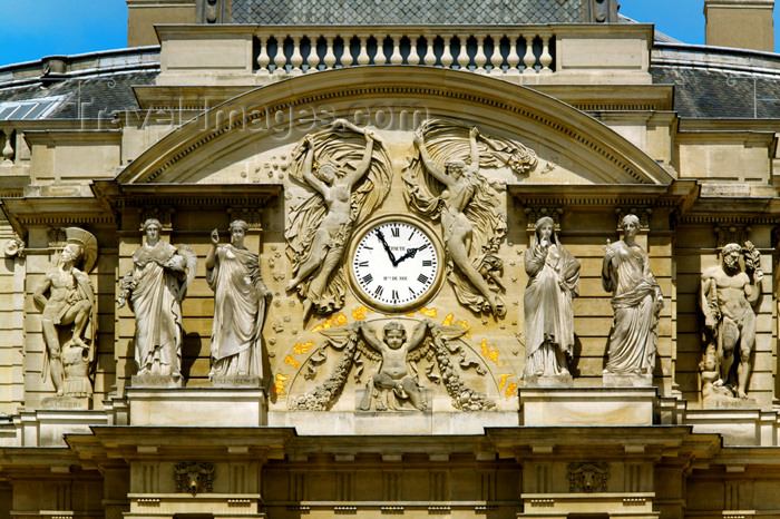 france677: Senat inLuxembourg Park - (c) Travel-Images.com - Stock Photography agency - Image Bank
