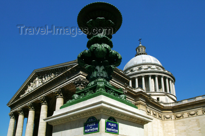 france682: Place du Pantheon. - (c) Travel-Images.com - Stock Photography agency - Image Bank