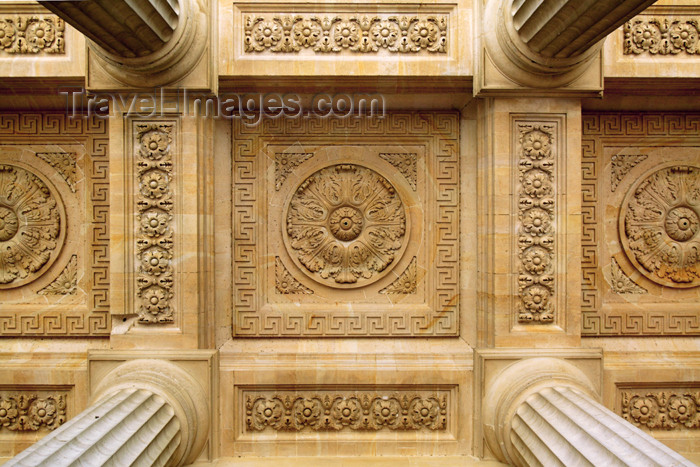 france686: Paris, France: Saint-Sulpice church - dedicated to Sulpitius the Pious - detail of the porch - Luxembourg Quarter - VIe arrondissement - photo by Y.Guichaoua - (c) Travel-Images.com - Stock Photography agency - Image Bank