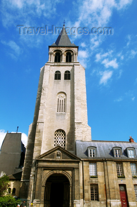 france688: Paris, France: Saint-German-des-Prés church - VIe arrondissement - photo by Y.Guichaoua - (c) Travel-Images.com - Stock Photography agency - Image Bank