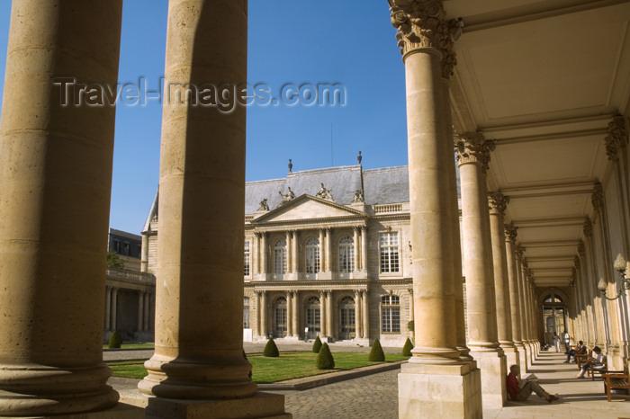 france719: Paris, France: Hôtel de Soubise - Museum of History of France - rue des Francs-Bourgeois - IIIème - photo by Y.Guichaoua - (c) Travel-Images.com - Stock Photography agency - Image Bank