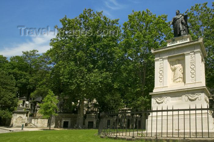 france809: Paris, France: grave of Casimir Perrier - Président de la république - Pere Lachaise cemetery - photo by Y.Guichaoua - (c) Travel-Images.com - Stock Photography agency - Image Bank