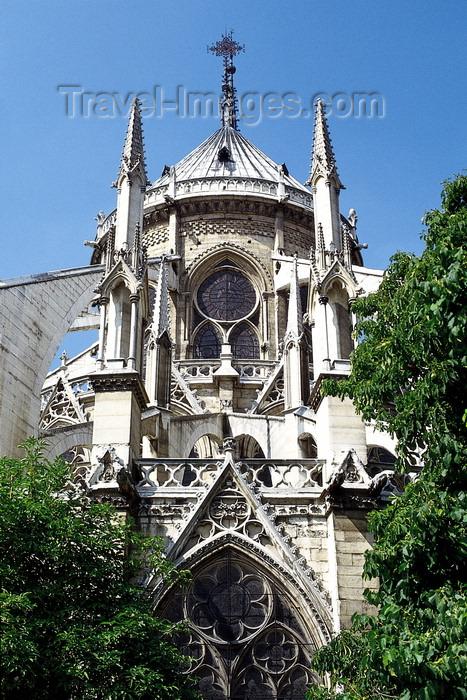france941: Paris, France: Notre-Dame cathedral - Gothic details - Unesco world heritage site - Île de la Cité - 4e arrondissement - photo by A.Bartel - (c) Travel-Images.com - Stock Photography agency - Image Bank