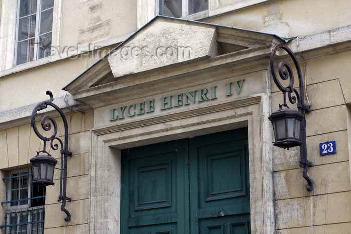 france960: Paris, France: Lycée Henri IV - public secondary school - former royal Abbey of St Genevieve, Rue Clovis, Latin Quarter - 5e arrondissement - photo by A.Bartel - (c) Travel-Images.com - Stock Photography agency - Image Bank
