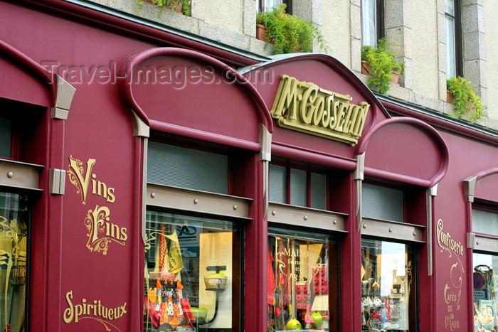 france967: Saint-Vaast-la-Hougue, Manche, Basse Normandie, France: Maison Gosselin - delicatessen shop - épicerie Fine - Rue de Verrue - photo by A.Bartel - (c) Travel-Images.com - Stock Photography agency - Image Bank