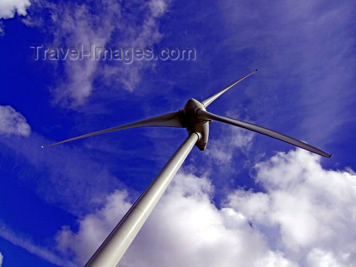 france985: Meautis-Auvers, Carentan, Manche, Basse-Normandie, France: wind generator - wind turbine and sky - photo by A.Bartel - (c) Travel-Images.com - Stock Photography agency - Image Bank