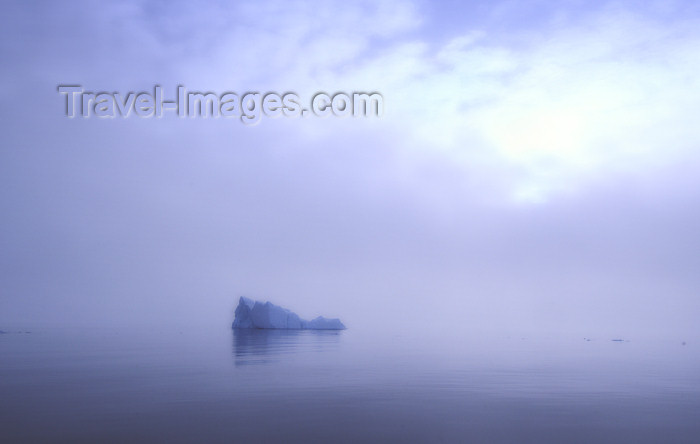 franz-josef28: Franz Josef Land Distant Iceberg in clearing fog - Arkhangelsk Oblast, Northwestern Federal District, Russia - photo by Bill Cain - (c) Travel-Images.com - Stock Photography agency - Image Bank