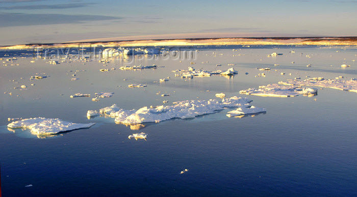 franz-josef29: Franz Josef Land Drift ice from ship in late afternoon - Arkhangelsk Oblast, Northwestern Federal District, Russia - photo by Bill Cain - (c) Travel-Images.com - Stock Photography agency - Image Bank