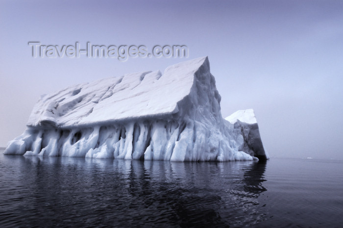 franz-josef40: Franz Josef Land Iceberg in shape of a church - Arkhangelsk Oblast, Northwestern Federal District, Russia - photo by Bill Cain - (c) Travel-Images.com - Stock Photography agency - Image Bank