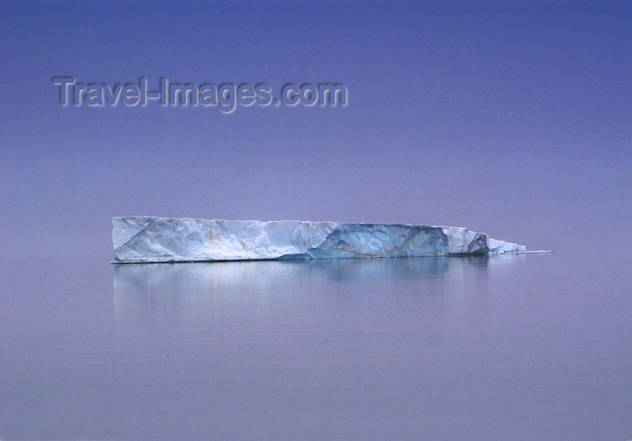 franz-josef41: Franz Josef Land Iceberg in very calm water - Arkhangelsk Oblast, Northwestern Federal District, Russia - photo by Bill Cain - (c) Travel-Images.com - Stock Photography agency - Image Bank