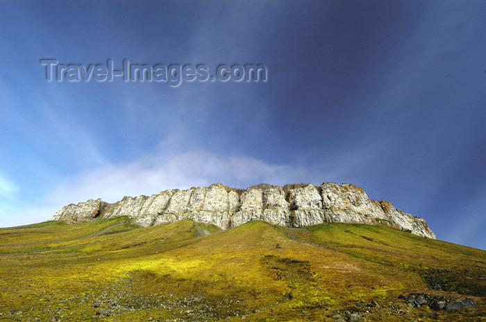 franz-josef69: Franz Josef Land Rock Massif on Flora Island - Arkhangelsk Oblast, Northwestern Federal District, Russia - photo by Bill Cain - (c) Travel-Images.com - Stock Photography agency - Image Bank