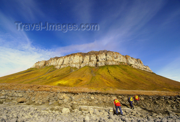 franz-josef7: Franz Josef Land Rock Massif on Flora Island - Arkhangelsk Oblast, Northwestern Federal District, Russia - photo by Bill Cain - (c) Travel-Images.com - Stock Photography agency - Image Bank