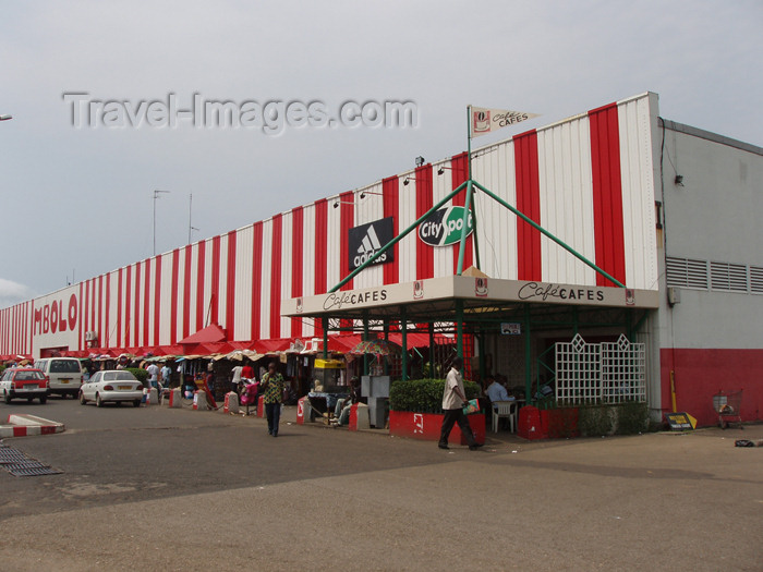 gabon11: Libreville, Estuaire Province, Gabon: Mbolo supermarket - supermarché Mbolo, filiale de Carrefour, SODIGAB - Société de Distribution Gabonaise - photo by B.Cloutier - (c) Travel-Images.com - Stock Photography agency - Image Bank