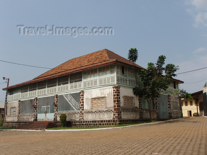 gabon4: Libreville, Estuaire Province, Gabon: colonial building at Mission Sainte-Marie - photo by B.Cloutier - (c) Travel-Images.com - Stock Photography agency - Image Bank