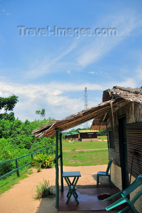 gabon42: Domaine de Nyonié, Estuaire Province, Gabon: small bungalow - photo by M.Torres - (c) Travel-Images.com - Stock Photography agency - Image Bank