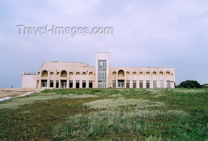 gagauzia12: Vulcanesti, Gagauzia, Moldova: arches - Soviet architecture of the 1980s - photo by M.Torres - (c) Travel-Images.com - Stock Photography agency - Image Bank