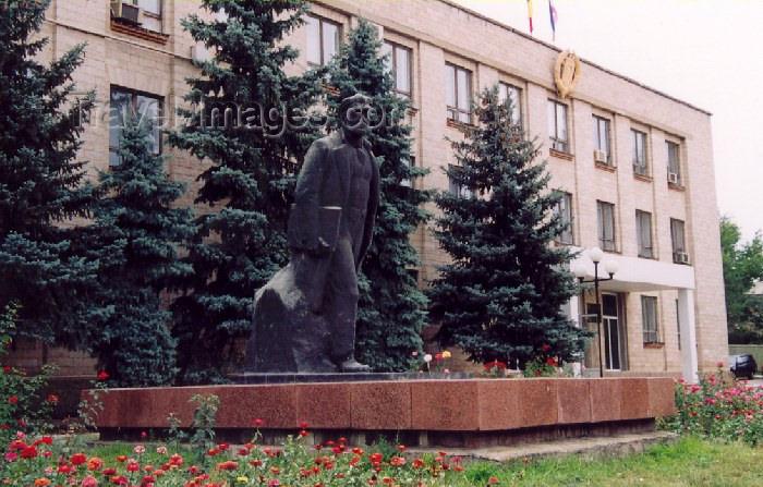 gagauzia3: Comrat / Komrat, Gagauzia, Moldova: the Assembly - Baskani - on Prospekt Lenin - photo by M.Torres - (c) Travel-Images.com - Stock Photography agency - Image Bank