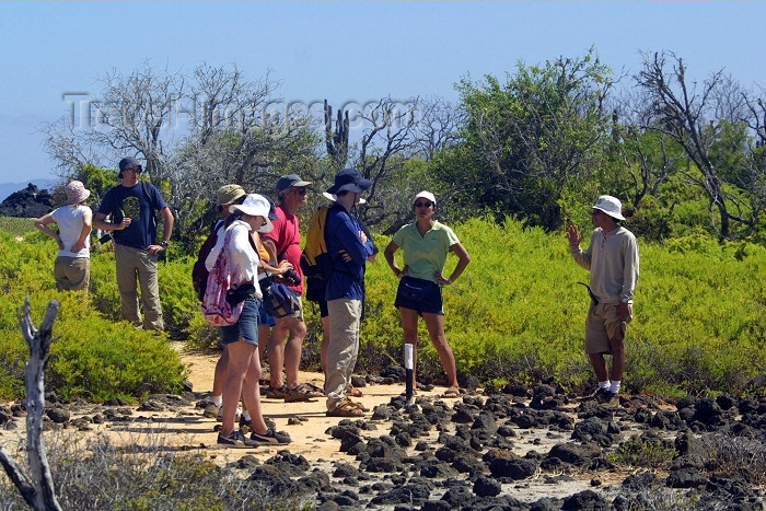 galapagos19: Galapagos Islands / Archipiélago de Colón, Ecuador: tour group - photo by R.Eime - (c) Travel-Images.com - Stock Photography agency - Image Bank