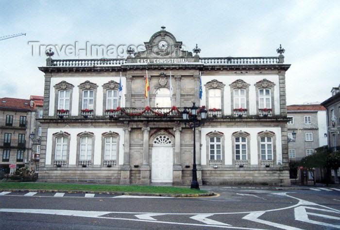 galicia34: Galicia / Galiza - Pontevedra: Casa Consistorial - photo by M.Torres - (c) Travel-Images.com - Stock Photography agency - Image Bank