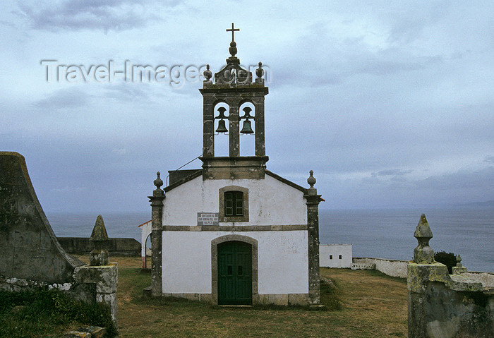 galicia47: Galicia / Galiza - Malpica de Bergantiños municipality - A Coruña province: sanctuary of San Robina del Mar near Malpica, Costa da Morte - photo by S.Dona' - (c) Travel-Images.com - Stock Photography agency - Image Bank