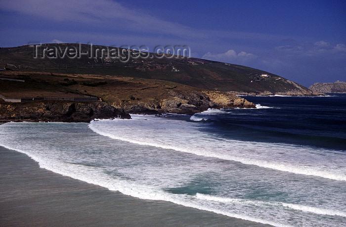 galicia50: Galicia / Galiza - Malpica de Bergantiños municipality - A Coruña province: beach - Costa da Morte near Malpica - Comarca de Bergantiños - photo by S.Dona' - (c) Travel-Images.com - Stock Photography agency - Image Bank