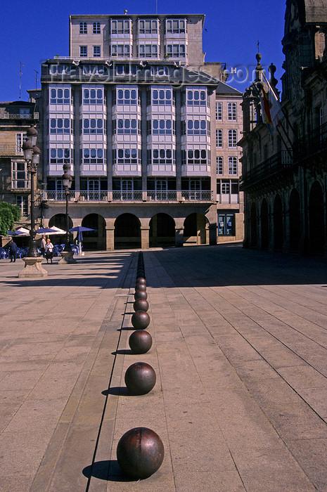 galicia68: Galicia / Galiza - Lugo: Plaza Maior - photo by S.Dona' - (c) Travel-Images.com - Stock Photography agency - Image Bank