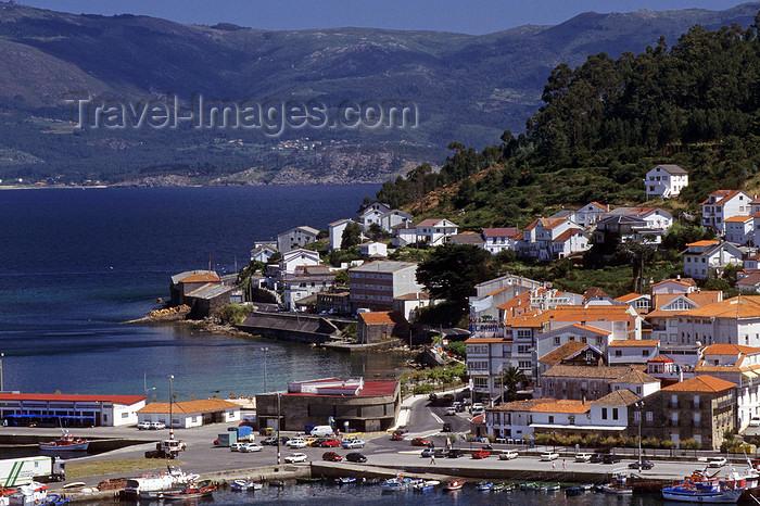 galicia69: Galicia / Galiza - Muros, A Coruña province: the town and the  Rias Baixas coast - photo by S.Dona' - (c) Travel-Images.com - Stock Photography agency - Image Bank
