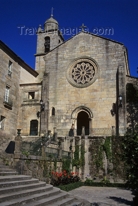 galicia71: Galicia / Galiza - Pontevedra: San Francisco church - photo by S.Dona' - (c) Travel-Images.com - Stock Photography agency - Image Bank