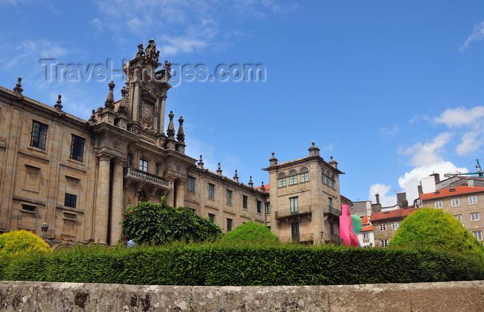 galicia91: Santiago de Compostela, Galicia / Galiza, Spain: San Martiño Pinario convent - Benedictine monastery - photo by M.Torres - (c) Travel-Images.com - Stock Photography agency - Image Bank