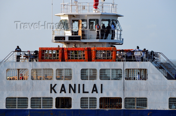 gambia75: Barra, The Gambia: detail of the ferryboat from Banjul - the Kanilai bridge and upper deck - photo by M.Torres - (c) Travel-Images.com - Stock Photography agency - Image Bank