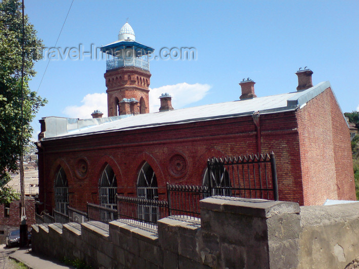 georgia116: Georgia - Tbilisi: red brick Mosque - photo by N.Mahmudova - (c) Travel-Images.com - Stock Photography agency - Image Bank