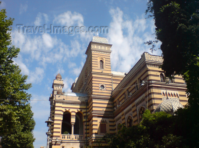 georgia121: Georgia - Tbilisi :Opera - side view - photo by N.Mahmudova - (c) Travel-Images.com - Stock Photography agency - Image Bank