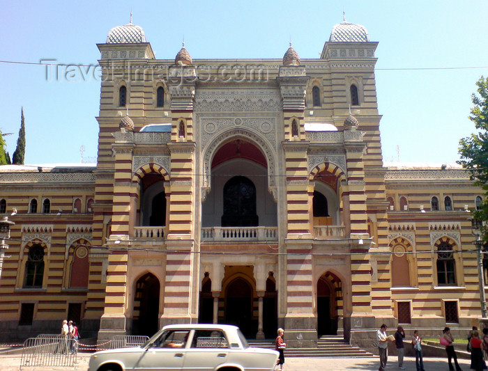 georgia132: Georgia - Tbilisi: Opera facade - photo by N.Mahmudova - (c) Travel-Images.com - Stock Photography agency - Image Bank