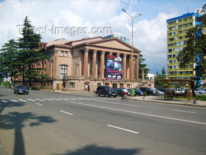 georgia142: Georgia - Batumi, Ajaria: Ilya Chavchavadze State Drama Theatre - Rustaveli St. - photo by M.Torres - photo by S.Hovakimyan - (c) Travel-Images.com - Stock Photography agency - Image Bank