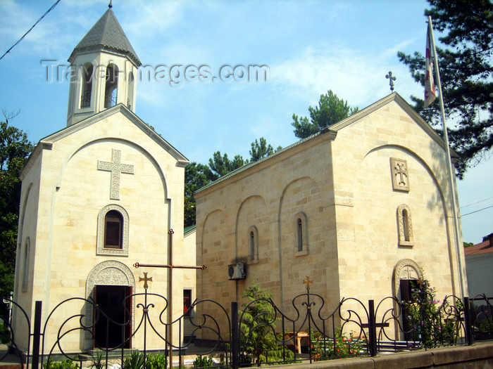 georgia143: Georgia - Kobuleti, Ajaria: Church - Georgian Orthodox - photo by S.Hovakimyan - (c) Travel-Images.com - Stock Photography agency - Image Bank