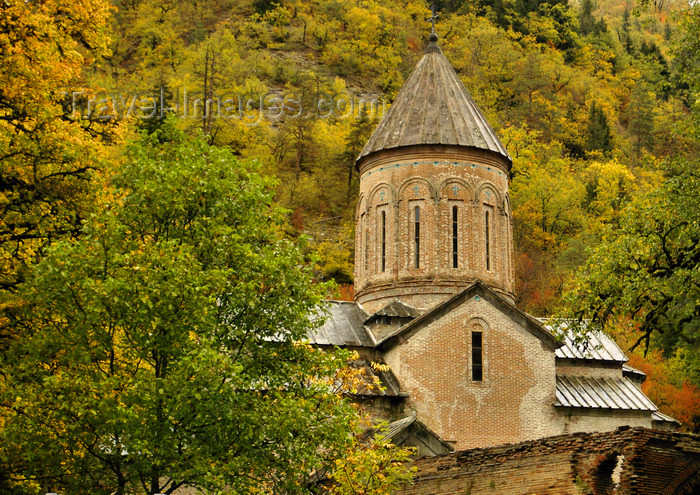 georgia160: Timotesubani, Borjomi district, Samtskhe-Javakheti region, Georgia: Timotesubani  Church of the Virgin - awarded the Europa Nostra medal in 2006 - photo by N.Mahmudova - (c) Travel-Images.com - Stock Photography agency - Image Bank