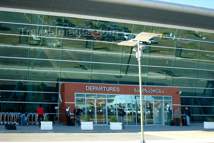 georgia168: Tbilisi, Georgia: Tbilisi International Airport - TBS - landside - end of George W. Bush Avenue - photo by N.Mahmudova - (c) Travel-Images.com - Stock Photography agency - Image Bank