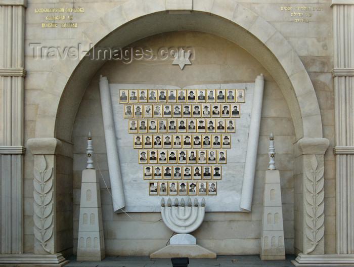 georgia189: Tbilisi, Georgia: main synagogue - honouring the Rabbis - photo by N.Mahmudova - (c) Travel-Images.com - Stock Photography agency - Image Bank