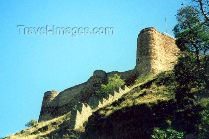 georgia19: Georgia - Tbilisi / Tblissi / TBS: climbing to Narikala fortress - ramparts - photo by M.Torres - (c) Travel-Images.com - Stock Photography agency - Image Bank