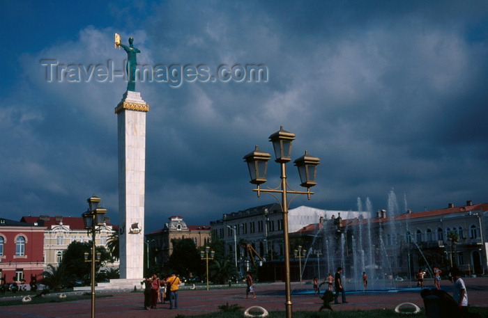 georgia191: Batumi, Ajaria, Georgia: central square with monument of golden fleece - photo by A.Harries - (c) Travel-Images.com - Stock Photography agency - Image Bank