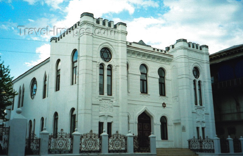 georgia26: Georgia - Batumi (Ajaria): the synagogue - Vasha Pshavela Street - Religion - Juadaism - photo by M.Torres - (c) Travel-Images.com - Stock Photography agency - Image Bank