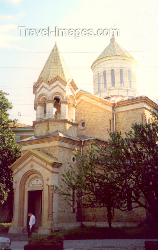 georgia33: Georgia - Batumi: Surb-Prkich - Armenian-Gregorian Church - Gamsakhurdia avenue - architect Marfeld - photo by M.Torres - (c) Travel-Images.com - Stock Photography agency - Image Bank