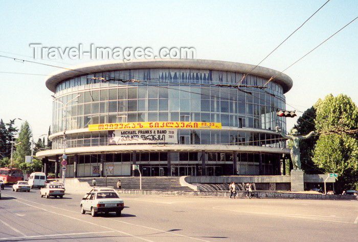 georgia5: Georgia - Tbilisi / Tblissi / TBS: the Philharmonia - National Philharmonic Hall - Melikischwili - Caucasus - photo by M.Torres - (c) Travel-Images.com - Stock Photography agency - Image Bank