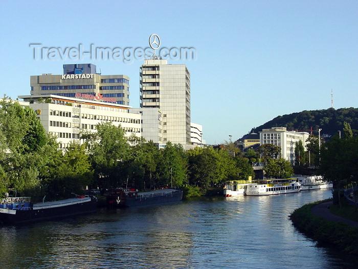 germany132: Germany / Deutschland -Saarbrucken (Saarland): Saar / Sarre river view - photo by P.Willis - (c) Travel-Images.com - Stock Photography agency - Image Bank