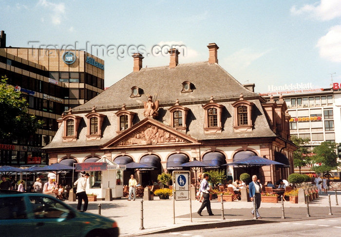 germany16: Germany / Deutschland - Frankfurt am Main (Hessen): Café Hauptwache - photo by M.Torres - (c) Travel-Images.com - Stock Photography agency - Image Bank